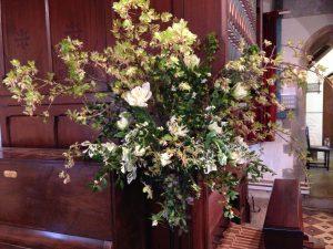 Church-flowers-spring