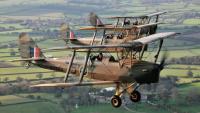 Formation flying over Dorset