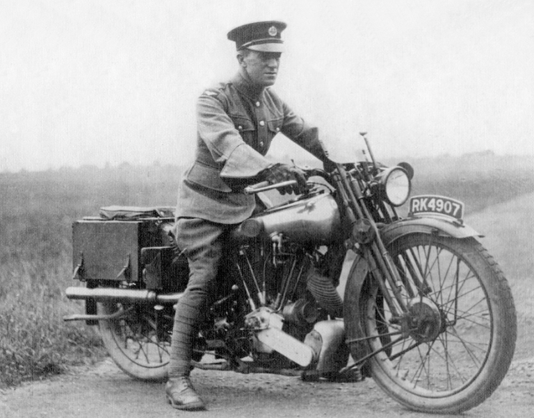 Lawrence of Arabia, who died in a motorcycle accident